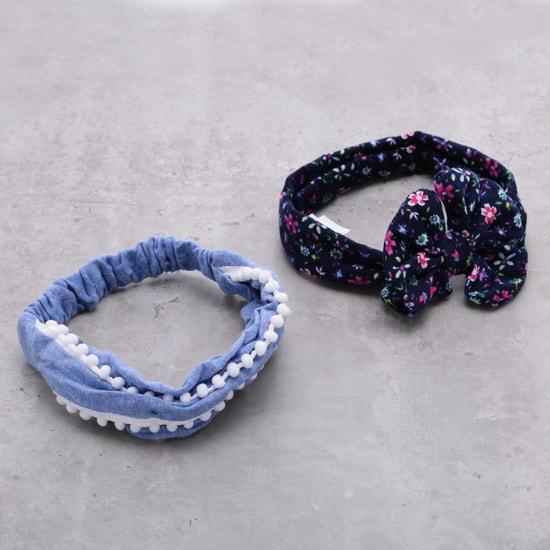 ربطة شعر متنوعة - طقم من قطعتين