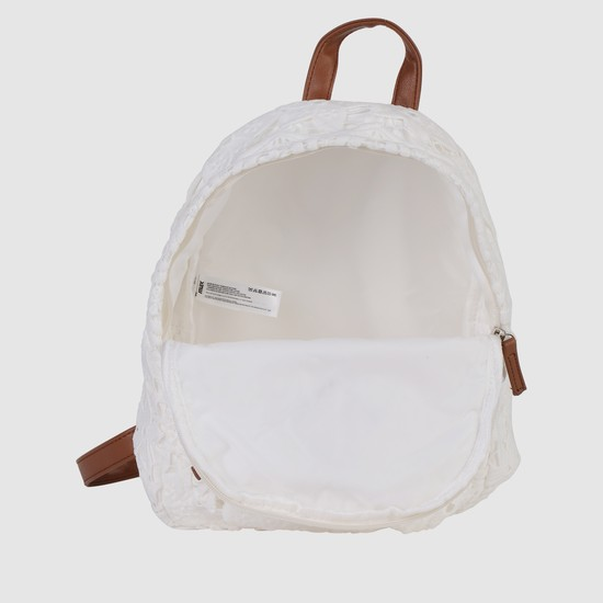 Lace Embroidered Backpack