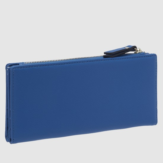 Bi-Fold Wallet with Snap Closure