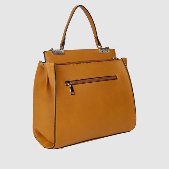 حقيبة يد بارزة الملمس