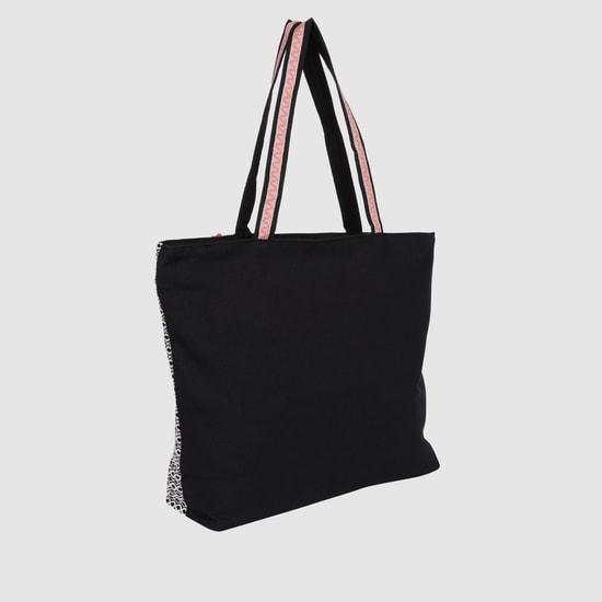 حقيبة يد توت بتصميم مطرّز