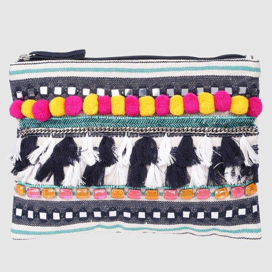 Embellished Pouch