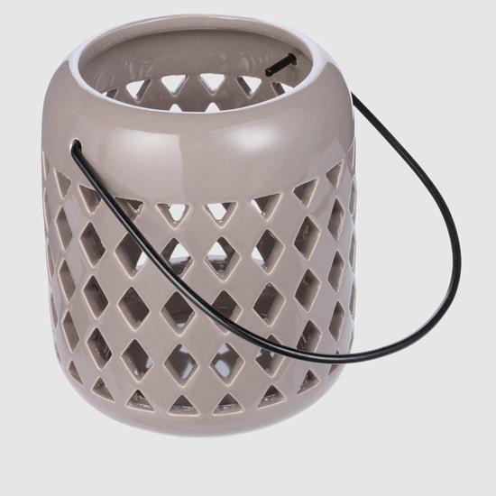 Lantern with Laser Cut Detail