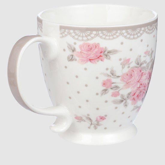Floral Print Single Mug