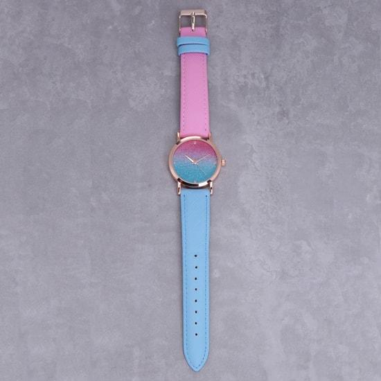 Dual Tone Wrist Watch