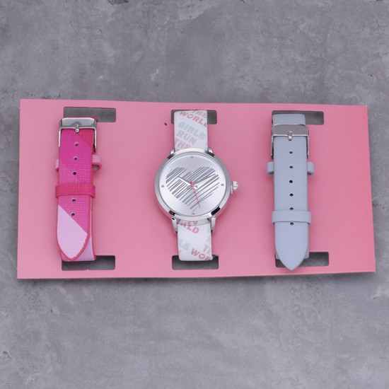 Embellished 3-Piece Wrist Watch Set