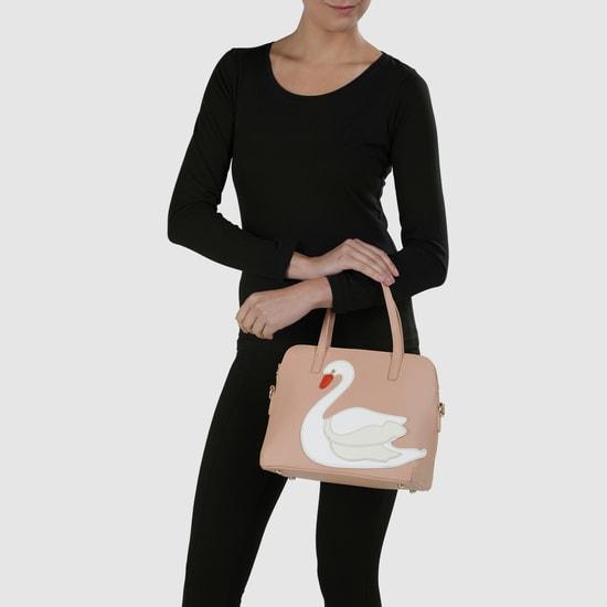 Applique Kettle Handbag