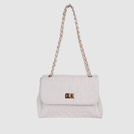 حقيبة يد بتصميم مبطن