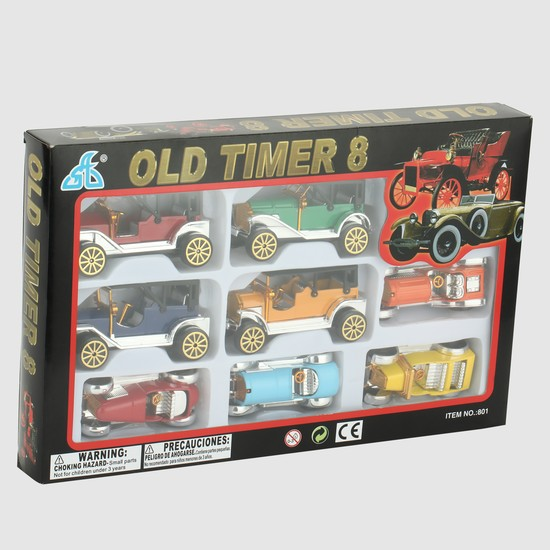 Old Timer 8-Piece Cars Playset