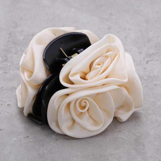 Floral Hair Clamp