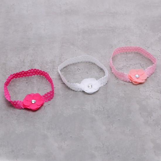 Embellished Head Band - Set of 3