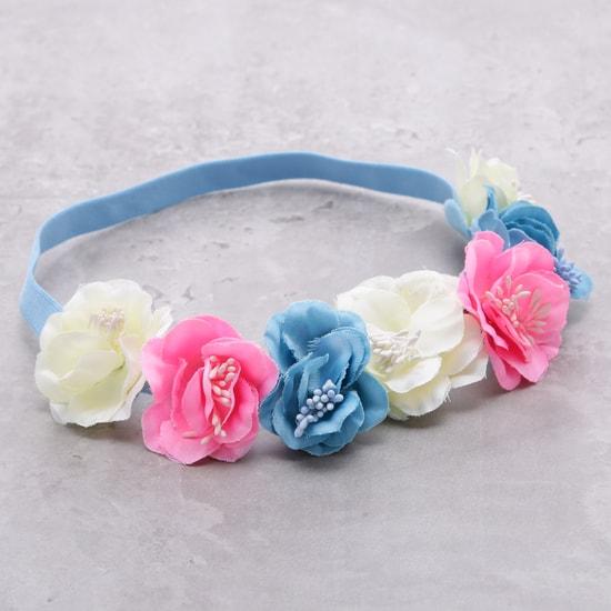 Flower Embellishded Head Band