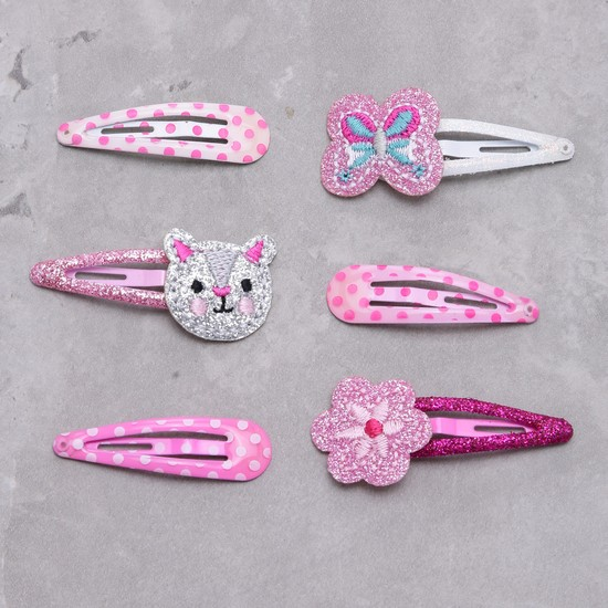 Assorted Hair Clip - Set of 6