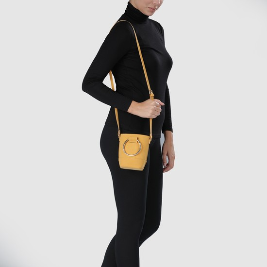 Sling Bag with Ring Handle