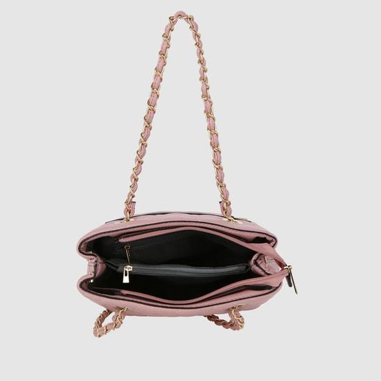 حقيبة يد بتصميم مبطّن