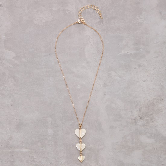 Heart Necklace with Lobster Clasp