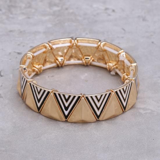 Printed Metallic Bracelet