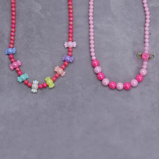 Beaded Necklace - Set of 2