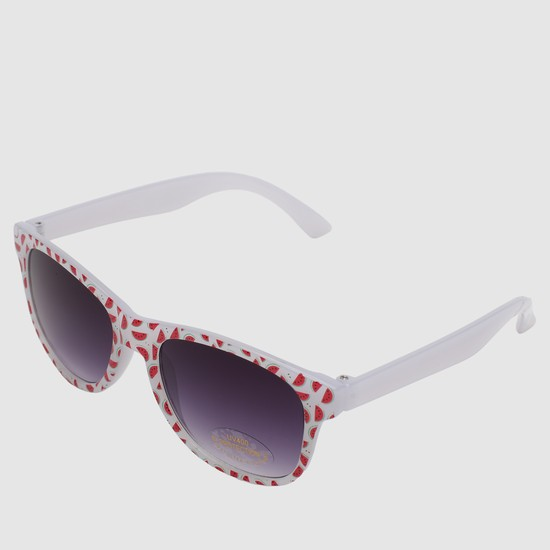 Watermelon Print Wayfarer Sunglasses
