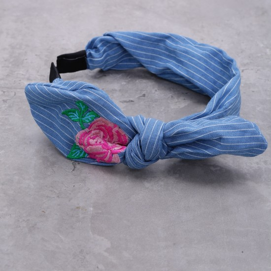 Embroidered Hairband