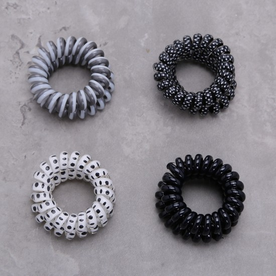 Assorted Hair Tie - Set of 8