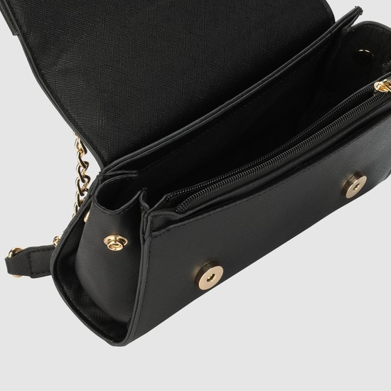 Crossbody with Flap and Magnetic Snap Closure