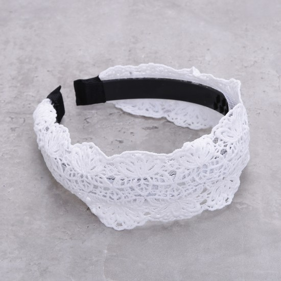 Lace Embroidered Hairband