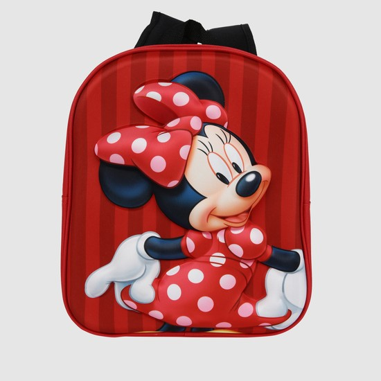 Minnie Mouse Print Backpack