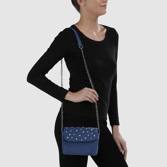 Embellished Crossbody Bag