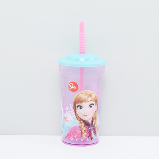 Princess Printed Sipper Cup with Straw