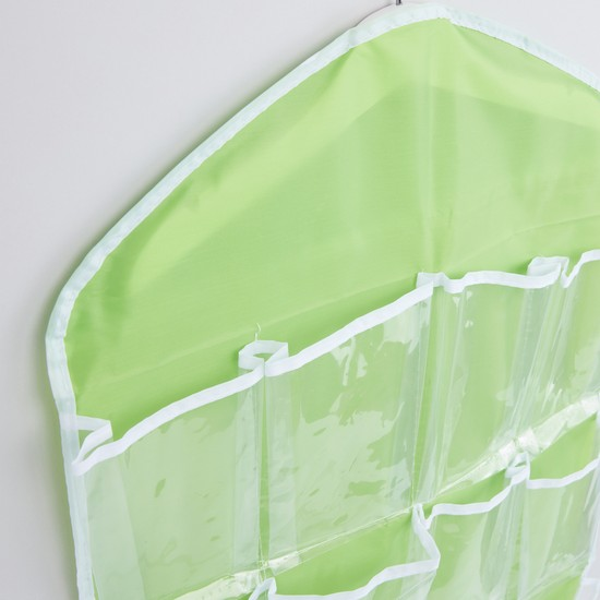 Storage Bag with Hanger and Compartments