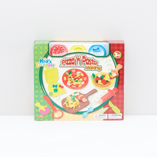 Kids Dough Pizza and Pasta Making Playset