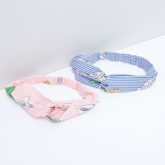 Striped Headband - Set of 2