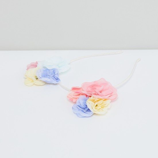 Flower Detail Hair Band