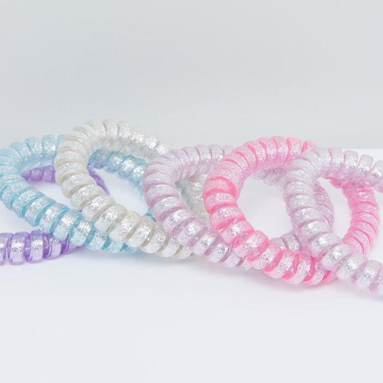 Spring Hair Tie - Set of 6