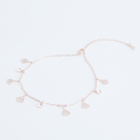 Charm Anklet with Lobster Clasp
