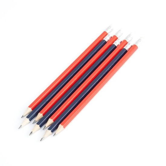 أقلام رصاص مزودة بممحاة - 50 قطعة