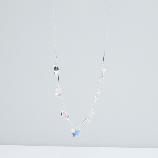 Charm Necklace with Lobster Clasp