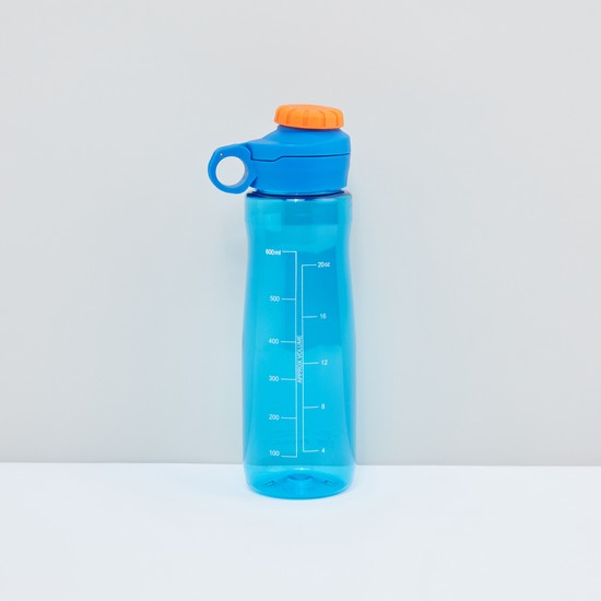 Printed Water Bottle with Screw Lid - 600 ml