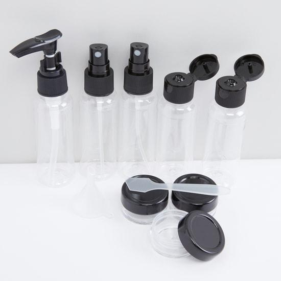 Printed 9-Piece Travel Bottle Set