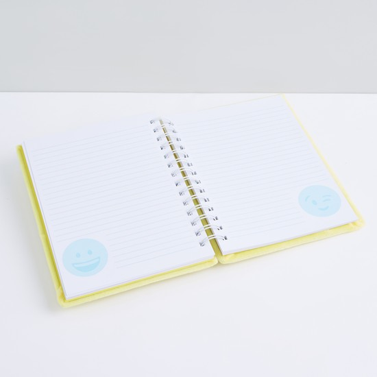 Sequin Detail Spiral Bound A5 Diary