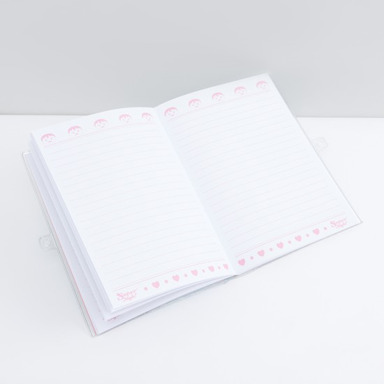 دفتر مذكرات مطبوعة بحجم A5 بقفل