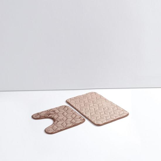 Textured Bath Mat - Set of 2