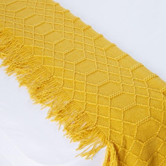 بطانية خفيفة بشراشيب