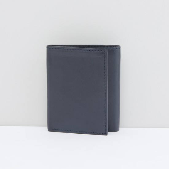 محفظة بطيّة ثلاثية مع فتحات متعددة للبطاقات