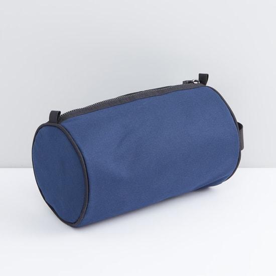 حقيبة صغيرة مستديرة بسحّاب إغلاق