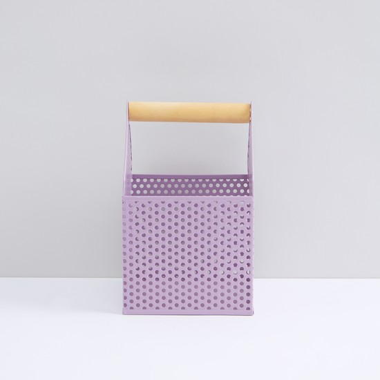 Perforated basket with Handle