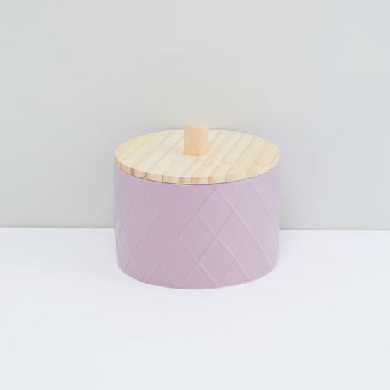 Textured Round Box