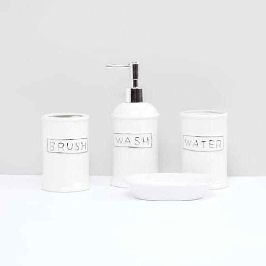 Printed 4-Piece Bath Set