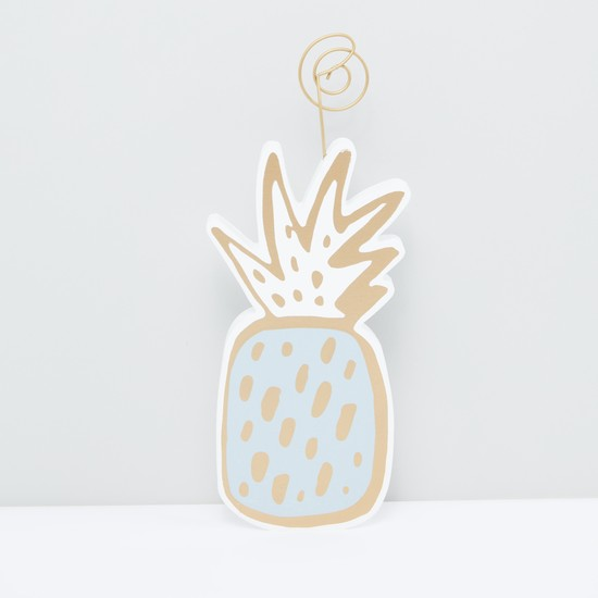 Pineapple Printed Showpiece
